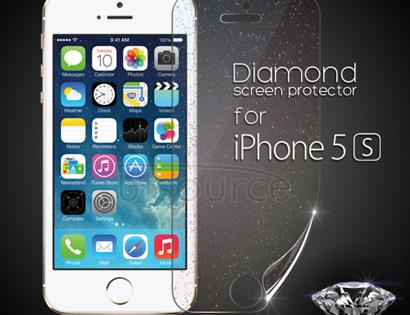 Diamond Front LCD Screen Protector for iPhone 5S
