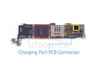 OEM Charging Port PCB Connector Replacement for iPhone 5S If the charging port socket is broken, your phone won't charge or sync data. The original charging port PCB connector replacement for iPhone 5S here will help you out.