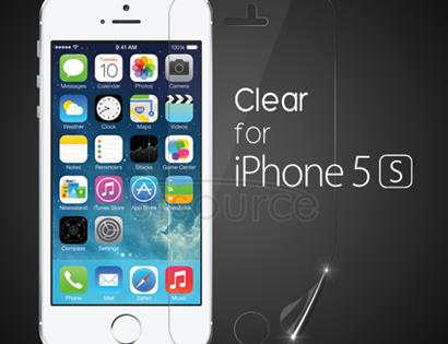 Clear Front Screen Protector for iPhone 5S