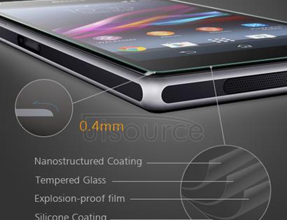Premium Tempered Glass Screen Protector Film for Sony Xperia Z1