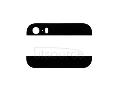 OEM Top and Bottom Back Glass for iPhone 5S Black