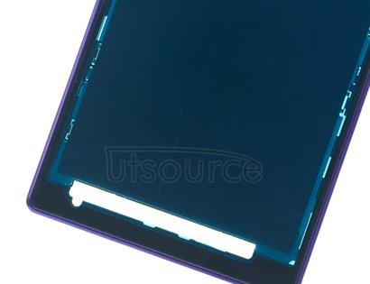 OEM LCD Supporting Frame for Sony Xperia Z1 Purple