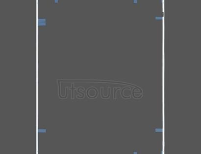 OEM LCD Screen Bezel with Adhesive Sticker for iPad 4 White