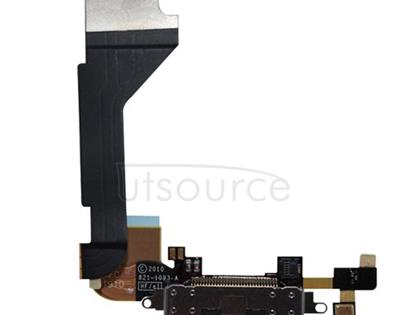 OEM Dock Connector Assembly for iPhone 4 Black