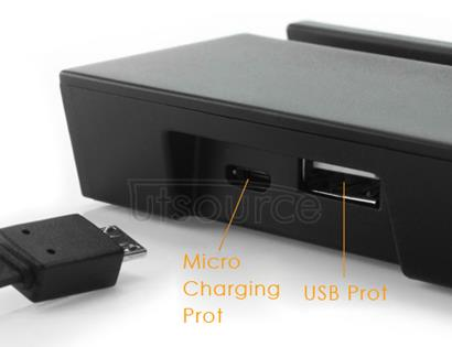 Custom Magnetic Charging Dock for Sony Xperia Smartphone Black