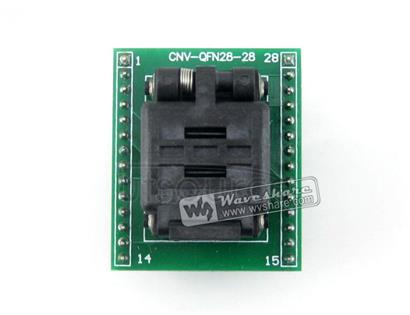 QFN28 TO DIP28 (A), Programmer Adapter
