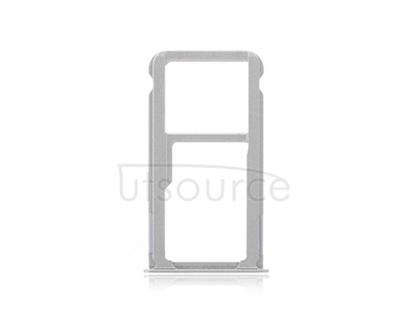 OEM SIM + SD Card Tray for Huawei Ascend Mate 8 Moonlight Silver