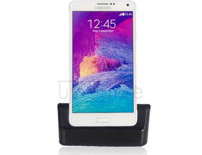 USB Sync Cradle Desktop Dock Charger for Samsung Galaxy Note 4 Black
