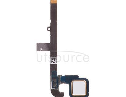 OEM Fingerprint Scanner Flex for Motorola Moto G4 Play White