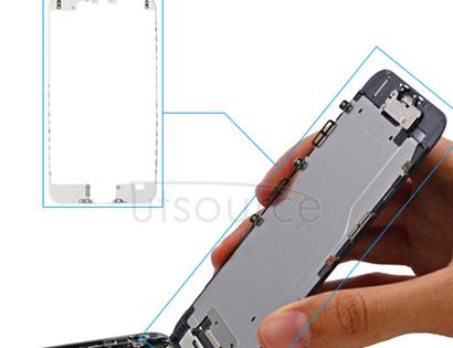 Custom LCD Supporting Frame for iPhone 6 White