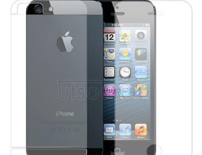 Front and Back Anti-Glare Screen Protector for iPhone 5