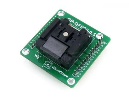 GP-QFN28-0.5-A, Programmer Adapter
