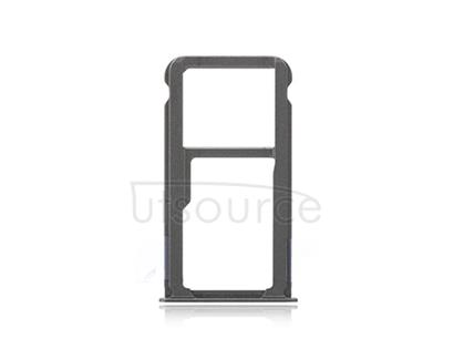 OEM SIM + SD Card Tray for Huawei Ascend Mate 8 Space Gray