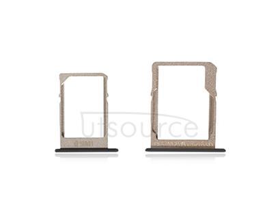 OEM SIM + SD Card Tray for Samsung Galaxy A5 SM-A500 Black