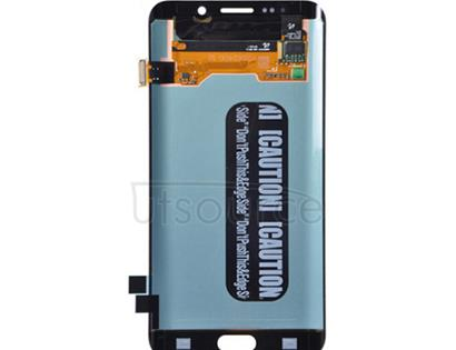 OEM LCD with Digitizer Replacement for Samsung Galaxy S6 Edge Plus Blue