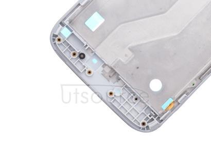 OEM LCD Supporting Frame for Motorola Moto G4 Play White