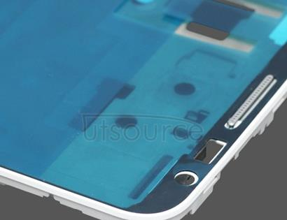 OEM LCD Screen Frame with Small Parts for Samsung Galaxy Note GT-N7000 White