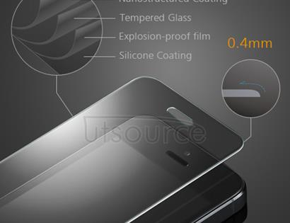 Clear Premium Tempered Glass Screen Protector Film for iPhone 5S