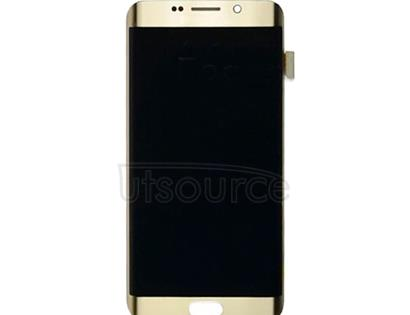 OEM LCD with Digitizer Replacement for Samsung Galaxy S6 Edge Plus Gold