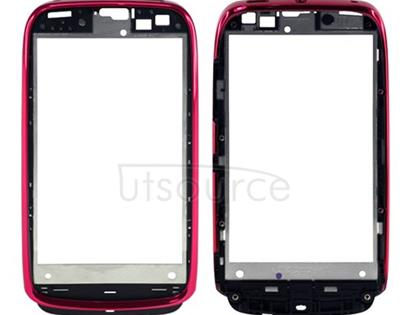 OEM LCD Supporting Frame for Nokia Lumia 610 Magenta