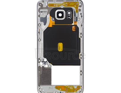 OEM Middle Housing Assembly for Samsung Galaxy S6 Edge Plus White