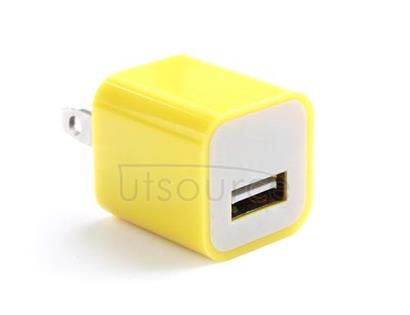 US Standard Charger for iPhone/iPad/iPod Yellow