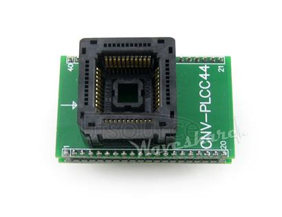 8051 PLCC44 TO DIP40 Programming Adapter