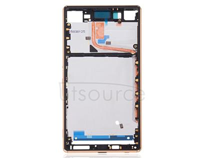 OEM Middle Frame for Sony Xperia Z3+ Gold