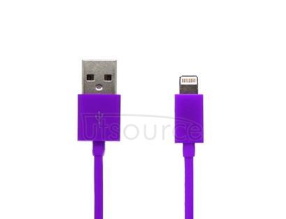 USB Cable for iPhone/iPad/iPod Purple