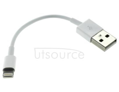 10cm USB Data Cable for iPhone/iPad/iPod White