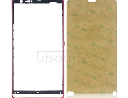 OEM Front Housing for Sony Xperia SP Red