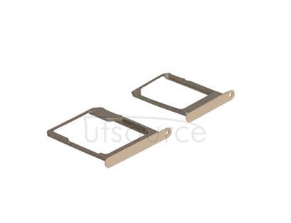 OEM SIM + SD Card Tray for Samsung Galaxy A5 SM-A500 Gold