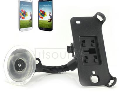 Windshield Car Holder for Samsung Galaxy S4 Flexible Gooseneck Black
