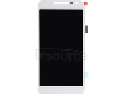 OEM LCD Screen with Digitizer Replacement for Motorola Moto G4 Play White