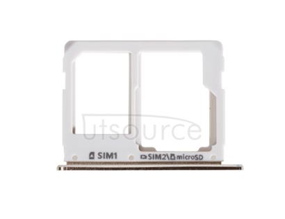 OEM SIM + SD Card Tray for Samsung Galaxy A9(2016) Champagne Gold
