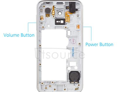OEM Middle Frame for Samsung Galaxy S5 mini Shimmery White