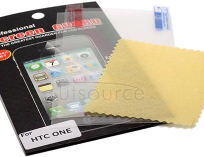Clear Screen Protector for HTC One