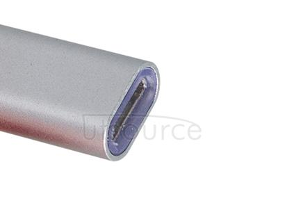 Metal USB Type-C to Micro USB Adapter for OnePlus Two Gray