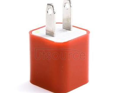 US Standard Charger for iPhone/iPad/iPod Orange