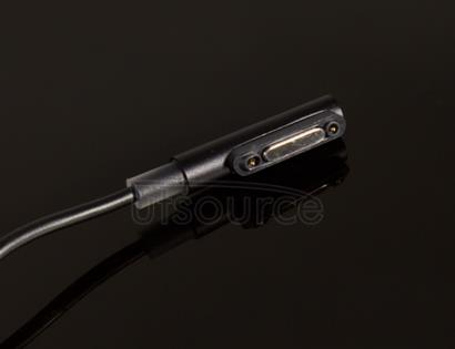 LED Flashlight Magnetic Charging Cable for Sony Xperia Z3 Black