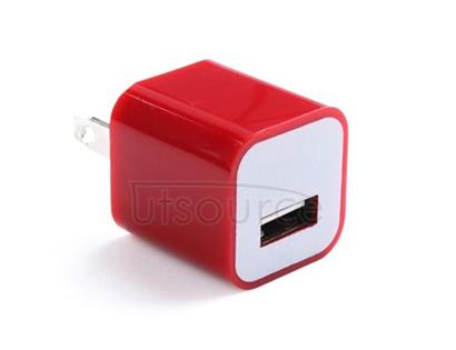 US Standard Charger for iPhone/iPad/iPod Red
