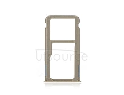 OEM SIM + SD Card Tray for Huawei Ascend Mate 8 Champagne Gold
