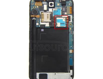 OEM SIM Card Connector for Samsung Galaxy Note 2 GT-N7100 The SIM card reader connector replacement part for Samsung Galaxy Note 2 GT-N7100 here is original and work perfect to fit with your Galaxy Note 2.