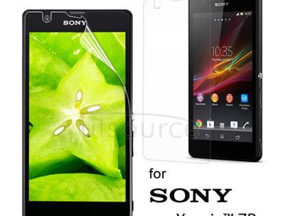 Clear Screen Protector for Sony Xperia ZR