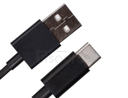 USB Data Cable Type-C Black