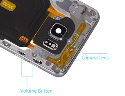 OEM Middle Housing Assembly for Samsung Galaxy S6 Edge Plus Black