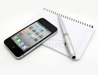 Multi-Function Touch Ball Pen Silver
