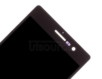 OEM LCD Screen with Digitizer Replacement for Huawei Ascend P7 Black