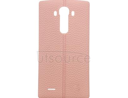 OEM Leather Back Cover for LG G4 Pink