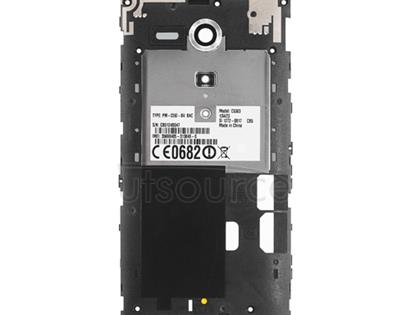 OEM Back Frame for Sony Xperia SP Silver